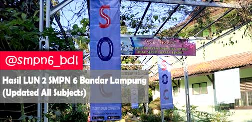 Students Online Competition (SOC) SMPN 6 Bandar Lampung